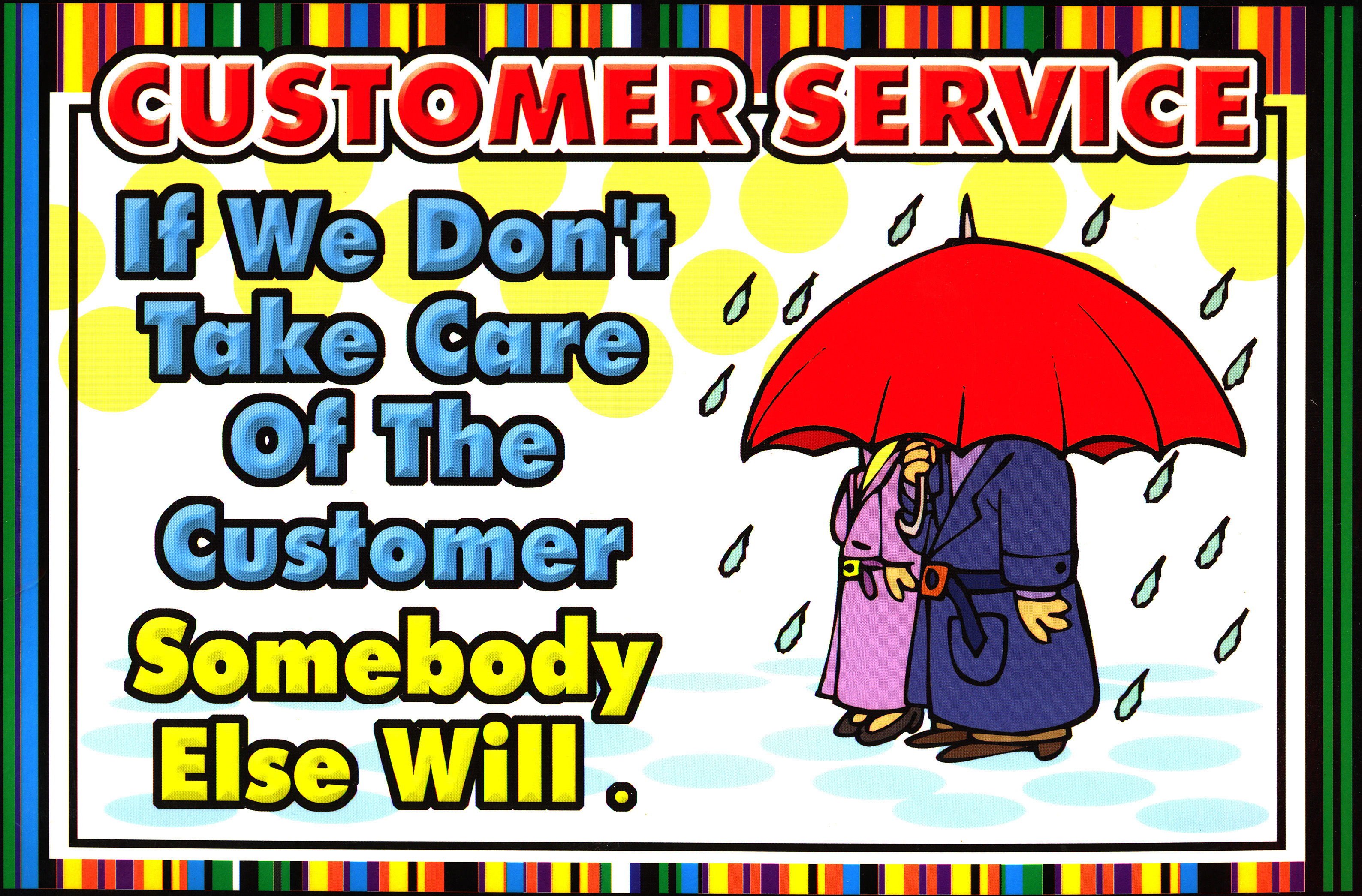 Customer Service Tip-When a Customer walks through the Door