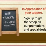 How to Collect Email Address for your Restaurant – Restaurant Promotion Ideas #6