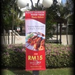 Restaurant Promotion Idea #20 – Promotional Buntings
