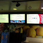 Restaurant Promotion Idea # 35 :- Digital Display to Market your Specials